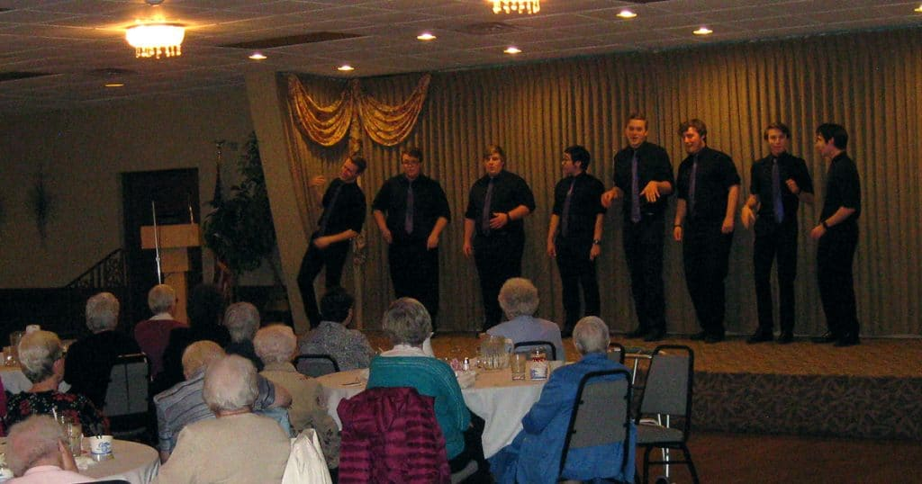 Knights of Columbus Honor Religious Night performance on April 28, 2019.