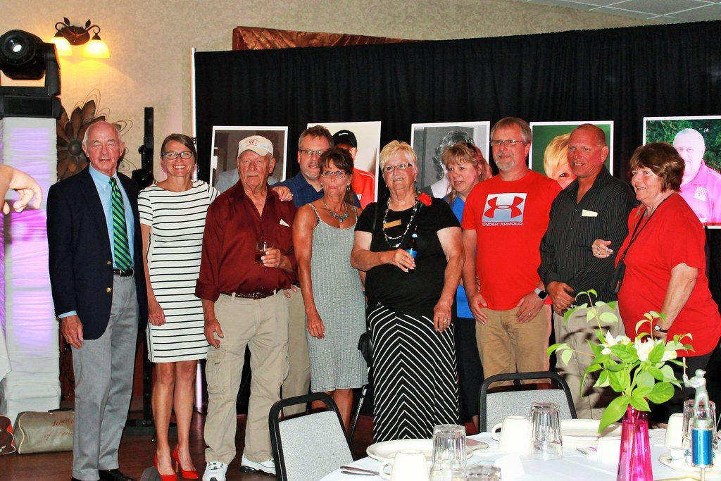 People at the Fond du Lac Softball Hall of Fame Banquet 2019.