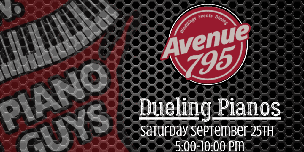 N.E.W. Piano Guys Dueling Pianos live in Fond du Lac 09/25/21 at Avenue 795.